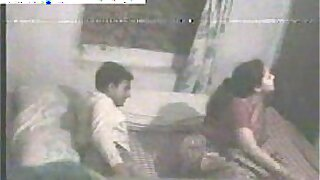 Indian girl couple homemade sex caught on camera - 7:48
