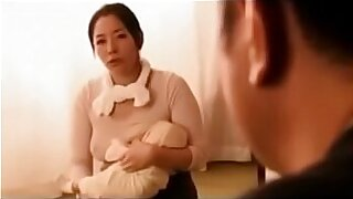 Teenie japan with fake breasts tugging - 32:30
