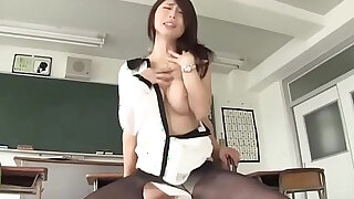 Screamming female teacher temptation extracurricular lessons doggy