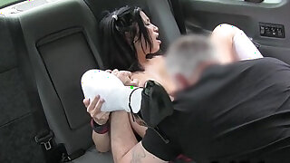 Schoolgirl banged in fake taxi pov - 7:00