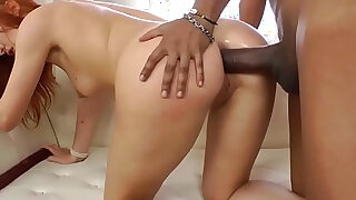 Redhead anally pounded - 6:00