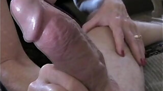 Mommy worships her sons cock - 11:00