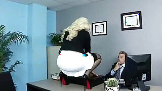 Sex Tape In Office With Nasty Wild Worker Girl video