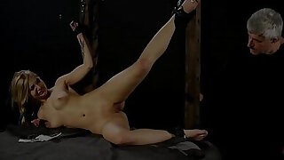 Teen slave pussy spanked - 1:08