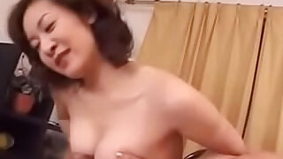 Old Japanese Wife Loves Young Boys Cock - 11:00