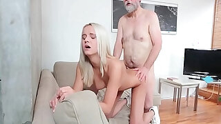 Young girl Joleyn Burst fucked by old dude Pavel Terrier - 28:00