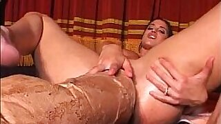 Sexy Teen Girl getting an Airtight Anal With Dildo With Monster 2009 - 9:12